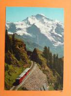 E16Suisse-schynige Platte-bahn Mit Jungfau--train- - JU Jura