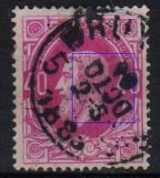 34  Obl  BXL  Le Mois Est Renversé - 1869-1883 Leopold II.