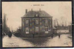 Rambures,la Mairie  (avec Le Curé En Soutane) - Unclassified