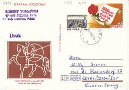 Polen 1979. Internationale Plakat-Biennale 1981 (2.726) - Briefe U. Dokumente