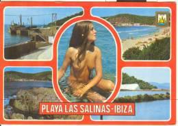 W016 - Pin Ups - Donna Femme Girl Woman - Nuda Nue Nude - Seno Seins Breast - Erotica Erotique Erotic Las Salinas Ibiza - Pin-Ups