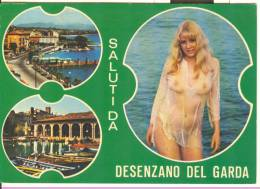 W020 - Pin Ups - Donna Femme Girl Woman - Nuda Nue Nude - Seno Seins Breast - Erotica Erotique Erotic Desenzano - Pin-Ups