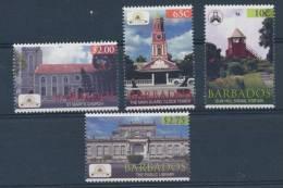 2012 Barbados Church Lighthouse Library Clock ** MNH - Barbados