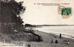 Saint Brevin Les Pins.Plage Vers Le Pointeau - Saint-Brevin-les-Pins