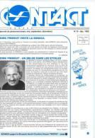 CONTACT - Journal Du Personnel SONACA - N° 13 Décembre 1992 + Photo Dédicacée De Dirk FRIMOUT    (2942) - Aviation