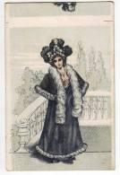 PHOTOGRAPHS WOMAN A FANCY LADY OLD POSTCARD - Photographs