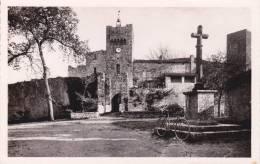 CPA 32  LARRESINGLE ,Tours Et Restes Du Château-Fort Du XIII°s. - France
