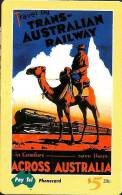 AUSTRALIA $5 OLD POSTERS SERIES TRAINS TRAIN ANIMAL No1 MINT 5000 ISSUED ONLY !! READ DESCRIPTION !! - Australia