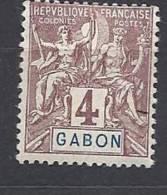 GABON TYPE GROUPE   N� 18 NEUF* TTB