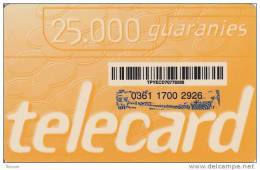 Paraguay, 25.000 Guaranies, 2 Scans. - Paraguay