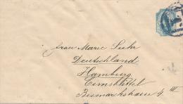 St. PETERSBURG - 1890 , Ganzsache  Mit Nummernstempel 1 - 1857-1916 Empire