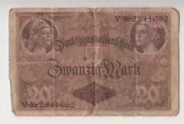 BILLET ALLEMAGNE - EMPIRE - P.46 - 20 MARK - 1914 - [ 2] 1871-1918 : Imperio Alemán