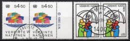 Nations Unies (Vienne) - 1985 - Yvert N° 49 & 50 - Centre International De Vienne