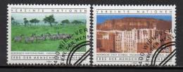 Nations Unies (Vienne) - 1984 - Yvert N° 41 & 42 - Centre International De Vienne