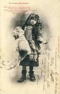 Jolie Fillette Déguisée En Petite Mendiante -1904 ( Voir Verso ) - Cartes Humoristiques