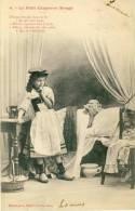 Jolie Fillette Déguisée En Chaperon Rouge -1903 ( Voir Verso ) - Cartes Humoristiques