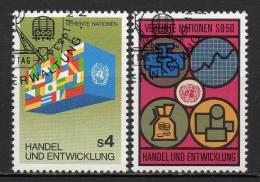 Nations Unies (Vienne) - 1983 - Yvert N° 34 & 35 - Centre International De Vienne