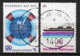 Nations Unies (Vienne) - 1983 - Yvert N° 30 & 31 - Centre International De Vienne