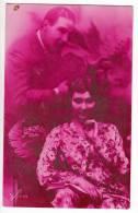 PHOTOGRAPHS COUPLE A COUPLE Nr. 1443/3 OLD POSTCARD 1929. - Photographs