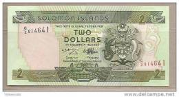 Salomone - Banconota Non Circolata Da 2 Dollari - Isola Salomon
