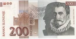 Slovenia 200 Tolarjev 2004. UNC - Slovénie