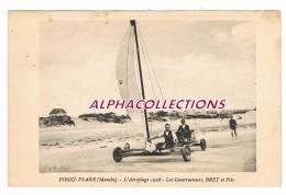 50 - PIROU PLAGE : AEROPLGE 1928. LES CONSTRUCTEURS, BRET ET FILS. - Autres Communes