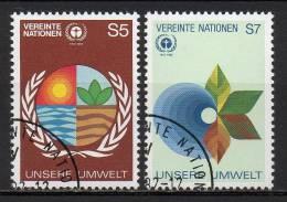 Nations Unies (Vienne) - 1982 - Yvert N° 24 & 25 - Centre International De Vienne
