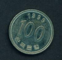 SOUTH KOREA  -  1999  100 Won  Circulated As Scan - Korea, South