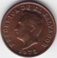 @Y@     El Salvador  1 Centavo  1972  AUNC (C334) - Salvador