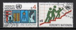 Nations Unies (Vienne) - 1980 - Yvert N° 14 & 15 - Centre International De Vienne
