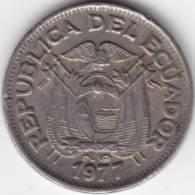 @Y@   Ecuador  50 Centavos  1977   (C345) - Ecuador