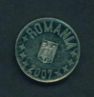 ROMANIA  -  2007  10 Bani  Circulated As Scan - Romania