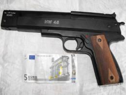 Pistolet Air Comprimé  HW45 WEIHRAUCH Fab Allemande Revolver,cal4.5 Mm Ou 177´´+boite Plomb /super Promo - 50% - Zonder Classificatie