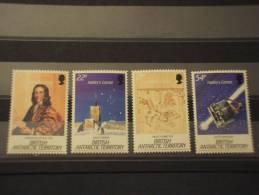 BRITISH ANTARTIC T. - 1986 COMETA 4 Valori - NUOVI(++)-TEMATICHE - Nuovi