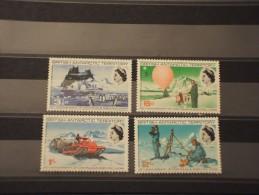 BRITISH ANTARTIC T. - 1969 RICERCHE 4 Valori - NUOVI(++)-TEMATICHE - Territorio Antartico Britannico  (BAT)