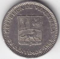 @Y@   Venezuela  25 Centimos  1965    (C350) - Venezuela