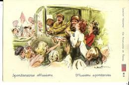 """Collection Welcome : Les Américains En France """"Effusions Spontanées"""" N°6 Non Voyagée - Guerre 1939-45"""