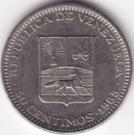 @Y@   Venezuela  50 Centimos  1965    (C351) - Venezuela