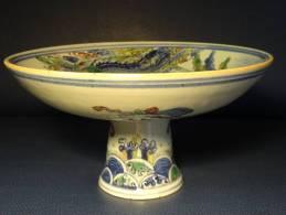 25=Chinese Porcelain Fruit Dish - Asian Art
