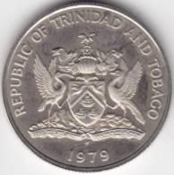@Y@   Trinidad And Tabago  25 Cents 1979   UNC    (C354) - Trinité & Tobago