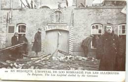 PAYS BAS LOO HOPITAL BOMBARDE PAR LES ALLEMANDS - Lo-Reninge