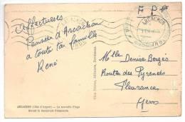 GIRONDE - Ministère Des Prisonniers De Guerre Et Déportés-Centre De Convalescence ( Arcach - Marcophilie (Lettres)
