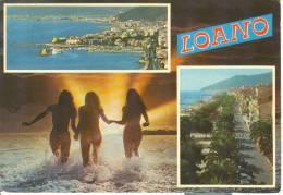 W077 - Loano Pin Ups - Donna Femme Girl Woman - Nuda Nue Nude - Erotica Erotique Erotic Ancora - Pin-Ups