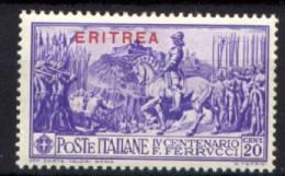 Eritrea 1930 Sass.165 **/MNH VF/F - Eritrea
