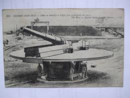 MILITAIRES - AL2 -  GUERRE DE 1914 - 1915 - PIECE EN TOURELLE A ECLIPSE POUR ARMEMENTS DES FORTS - Guerra 1914-18