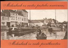 Molenbeek En Cartes Postales Anciennes, 1978, Par G. Abeels, Quatrième édition. Bibliothèque Européenne - Molenbeek-St-Jean - St-Jans-Molenbeek