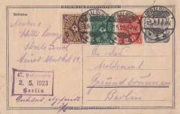 DR GS Zfr. Minr.193,208,225 Stralsund 1.5.23 - Deutschland