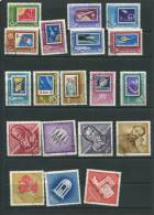 Hungary 1963 Accumulation Used Complete Sets - Hungary