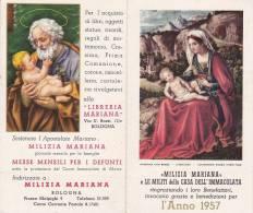CALENDARIETTO ANNO 1957 -MILIZIA MARIANA - Images Religieuses