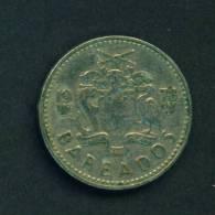BARBADOS  -  1978  25 Cents  Circulated As Scan - Barbades